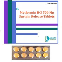 Metformin Hcl 500 Mg Sustain Release Tablets