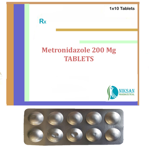 Metronidazole 200 Mg Tablets