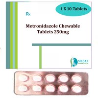 Metronidazole Chewable 250mg Tablets