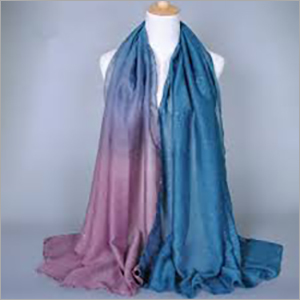 Double Shade Colour Cotton Stole