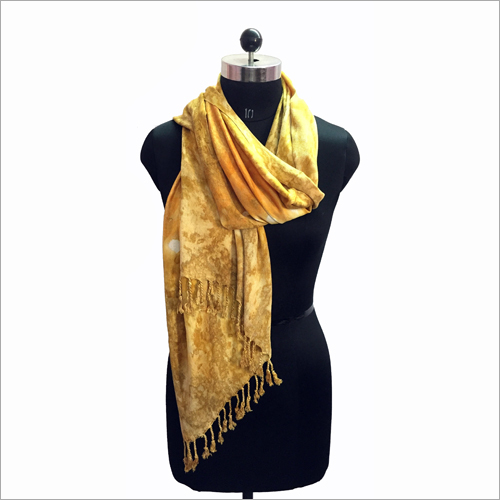 Ladies Printed Satin Stole