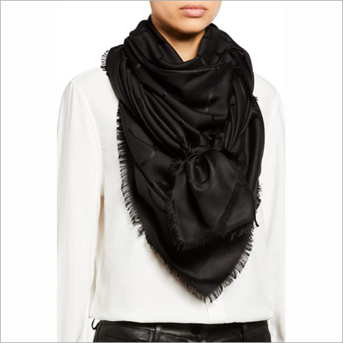 Ladies Black Casual Stole