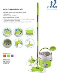 Ultra Clean Plus Spin Mop