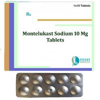 Montelukast Sodium 10 Mg Tablets
