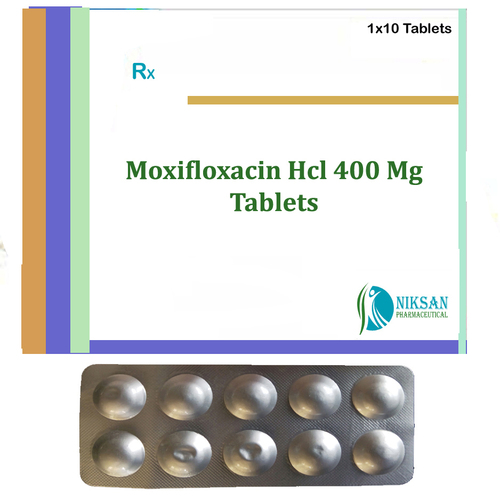 Moxifloxacin Hcl 400 Mg Tablets