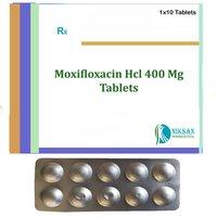 MOXIFLOXACIN HCL 400 MG TABLETS
