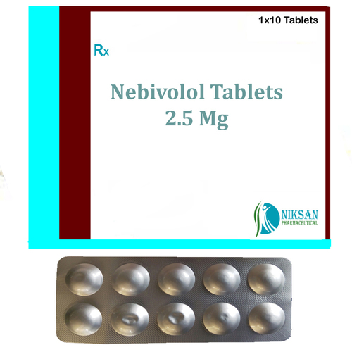 Nebivolol 2.5 Mg Tablets