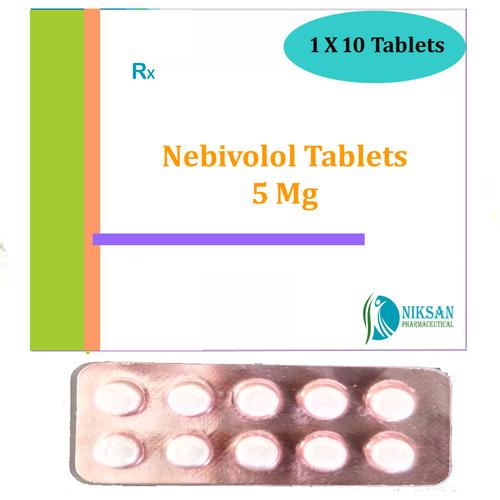 Nebivolol 5 Mg Tablets