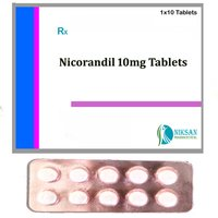 Nicorandil 10 Mg Tablets