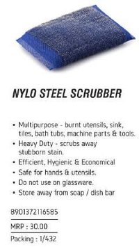 Nylo Steel Scrubber