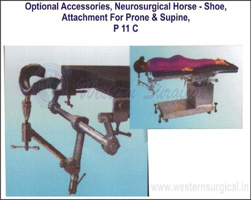 NEUROSURGICAL HORSE - SHOE ATTCHMENT FOR PHONE & SUPINE