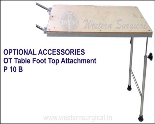 OT TABLE FOOT TOP ATTACHMENT