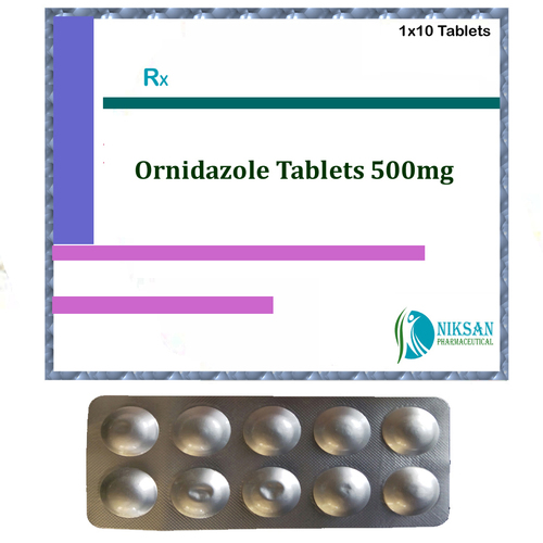 ORNIDAZOLE 500MG TABLETS