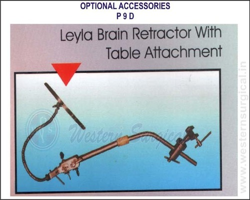 Leyla Brain Retractor with Table Attachment