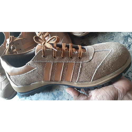 Savar Leather Sports Safety Shoes
