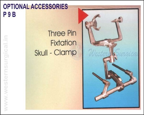 Three Pin Fixtation skull - clamp