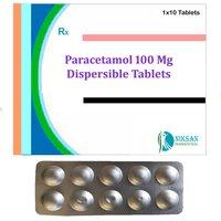 PARACETAMOL 100 MG DISPERSIBLE TABLETS