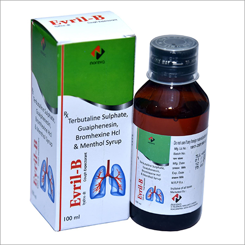Terbutaline Sulphate And Menthol Syrup