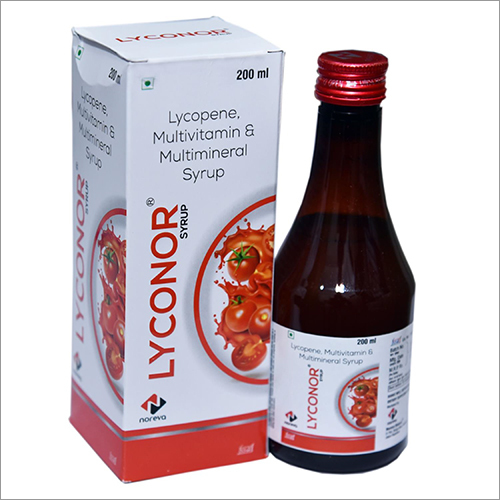 Multivitamin Minerals And Lycopene Suspension