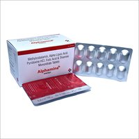 Methylcobalamin Alpha Lipoic Acid Pyridoxine HCL Folic Acid And Thiamine Mononitrate Tablet