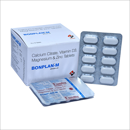 Calcium Citrate Vitamin D3 Magnesium And Zinc Tablet
