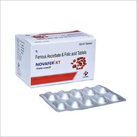 Ferrous Ascorbate Folic Acid And Sulphate Tablet