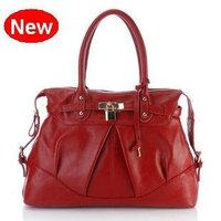 Ladies Red Leather Bag