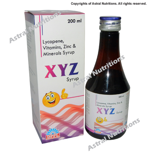 200ml Multivitamins XYZ Syrup