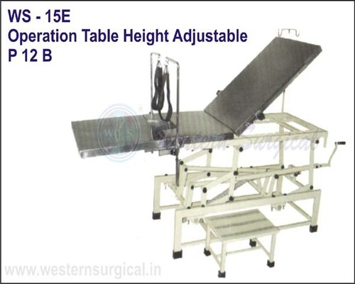 OPERATION TABLE HEIGHT ADUSTABLE