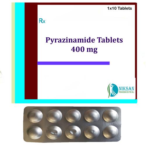 Pyrazinamide Tablets 400 Mg