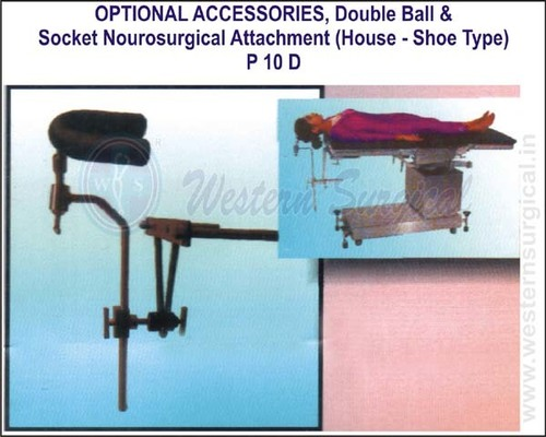 Double Ball & Socket Neurosurgical Attachment (Horse-shoe type)