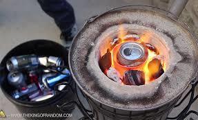 Aluminium melting burner