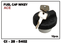 Fuel Cap W/Keys Ace