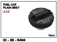 Fuel Cap Plain Grey Ace