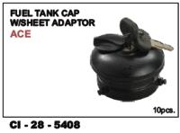 Fuel Tank Cap W/Sheet Adaptor