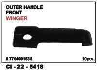 Car Outer Handle Front Winger
