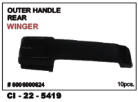 Car  Outer Handle Rear Winger