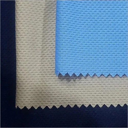 Honeycomb/rice Knit Fabric