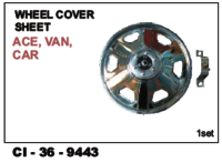 Car  Wheel Cover Sheet  Ace , Van