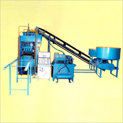 Rectangular Fly Ash Brick Making Machine