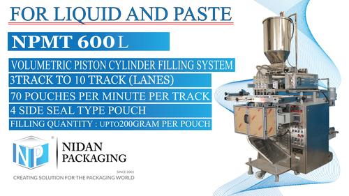 NPMT 600L - Multi Track Liquid Packing Machine