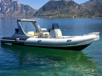 22ft Inflatable Boat with Outboard Motors