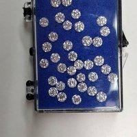Cvd Diamond 3.70mm GHI VS SI Round Brilliant Cut Lab Grown HPHT Loose Stones TCW 1