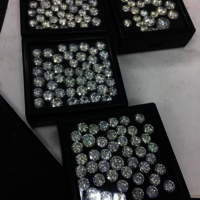Cvd Diamond 3.80mm GHI VS SI Round Brilliant Cut Lab Grown HPHT Loose Stones TCW 1