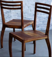Solid Wood Dining table set Meander