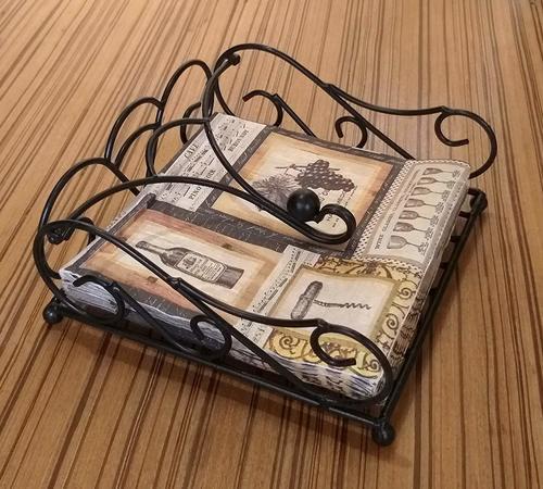 Iron Tissue Paper Holder Napkin Holder