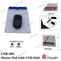 Mouse Pad With Usb Hub