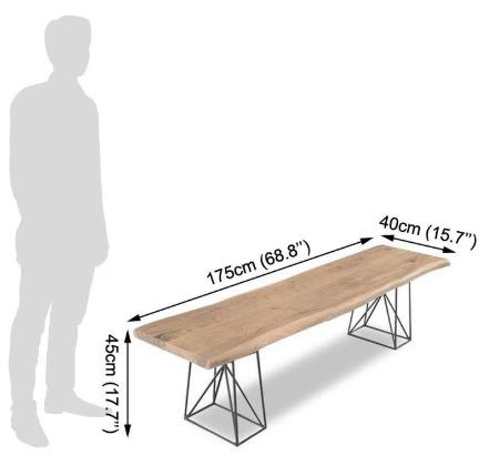 Wooden Dining Table set Ferrous