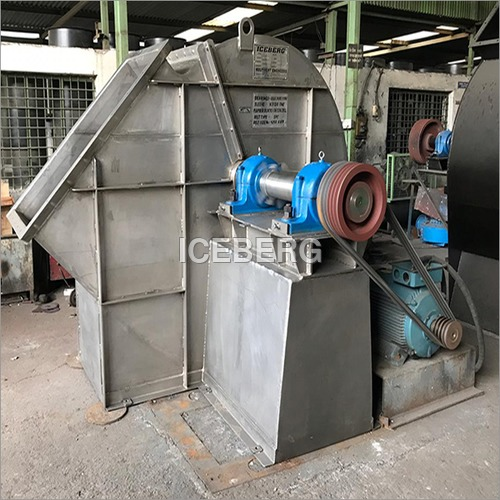 Assembly Of Stainless Steel Fan