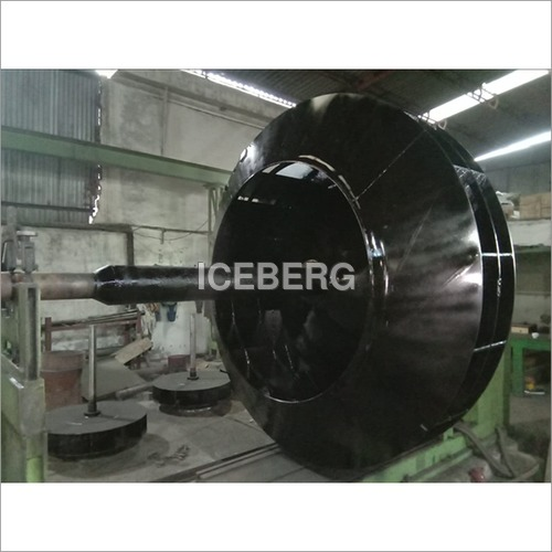 Impeller At Balancing Machine